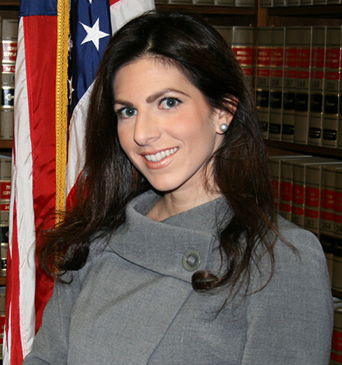 Portrait of Justina Geraci, Esq.
