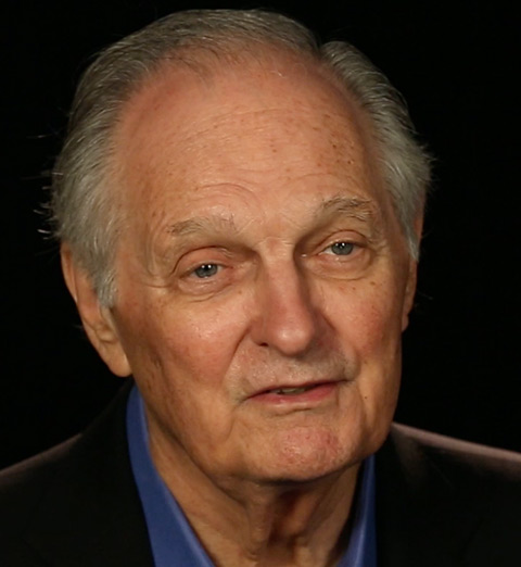 Portrait of Alan Alda