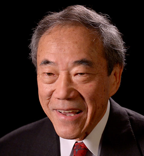 Portrait of Charles B. Wang