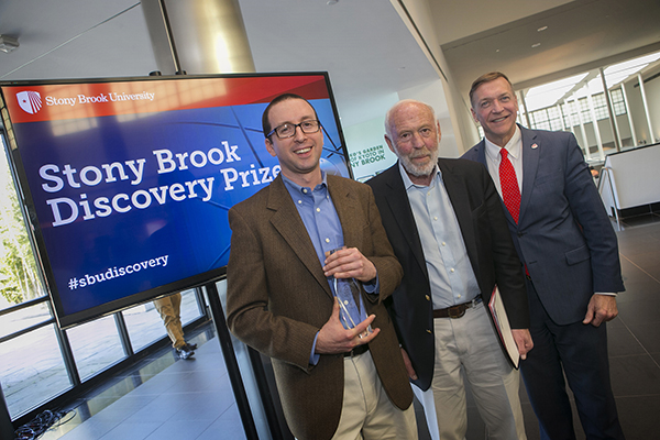 Stony Brook, NY; Stony Brook University: 2017 Discovery Prize Competition Ceremony