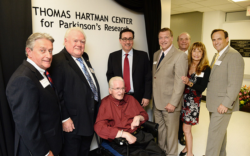 Stony Brook University; Dedication of the Thomas Hartman Center for Parkinson's Research in the Department of Neurobiology & Behavior;