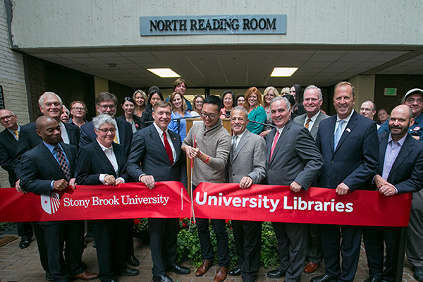 Library Ribbon Cutting
