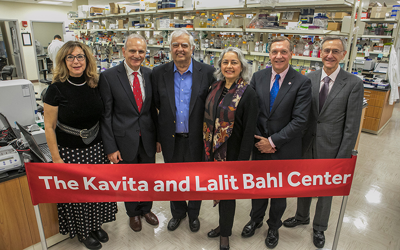 Stony Brook, NY; Stony Brook University Medical Center: Opening ceremony of the Cancer Center's new Kavita and Lalit Bahl Center for Metabolomics and Imaging Center.  APPROVED