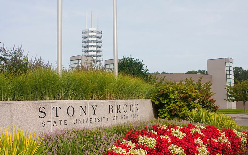 Stony Brook, NY; Stony Brook University: Main Entrance