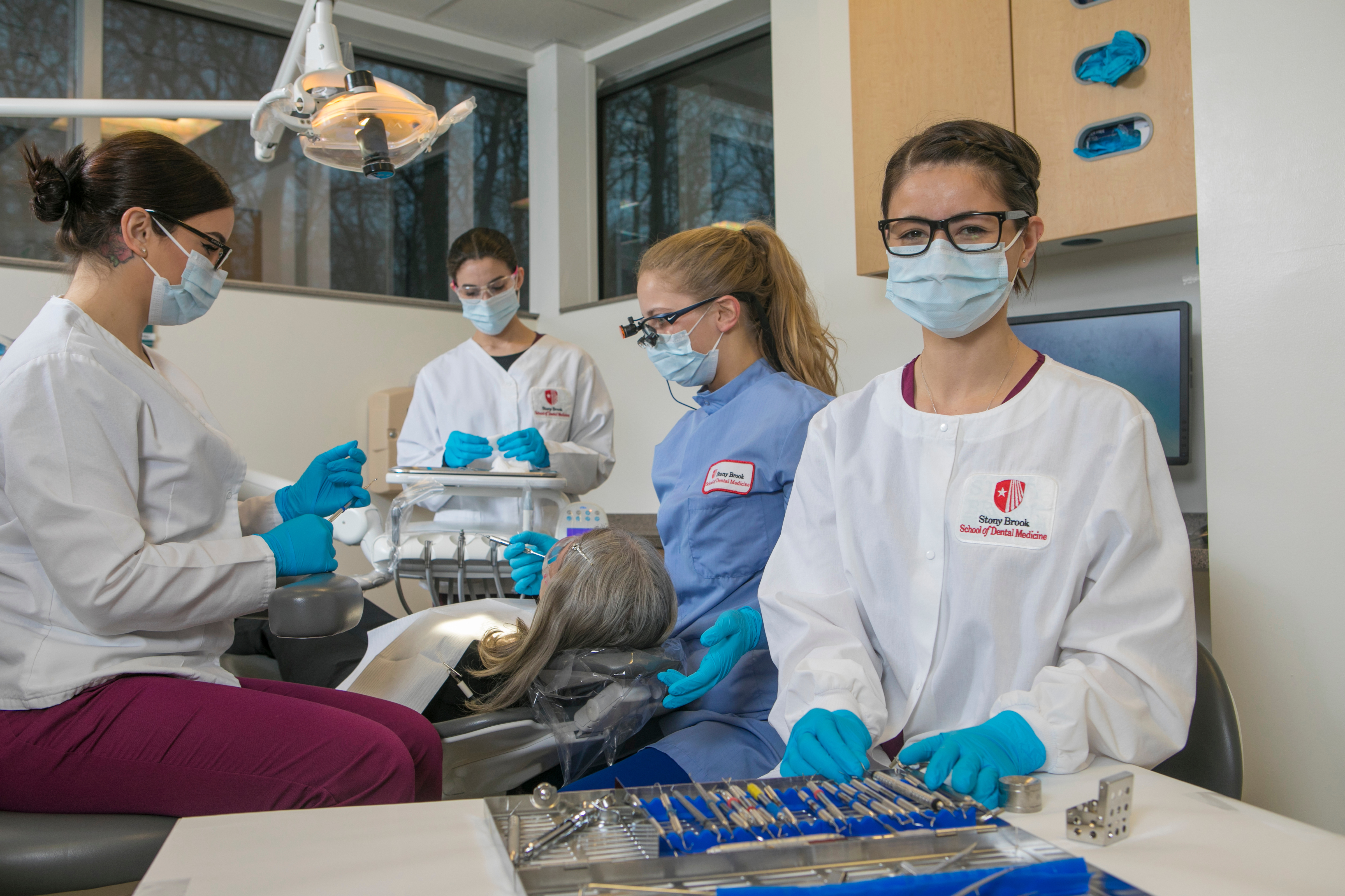 Students at Stony Brook University's School of Dental Medicine will be better able to finance their education thanks to the Dr. Bernard Malberg Memorial Scholarship Endowment Fund.