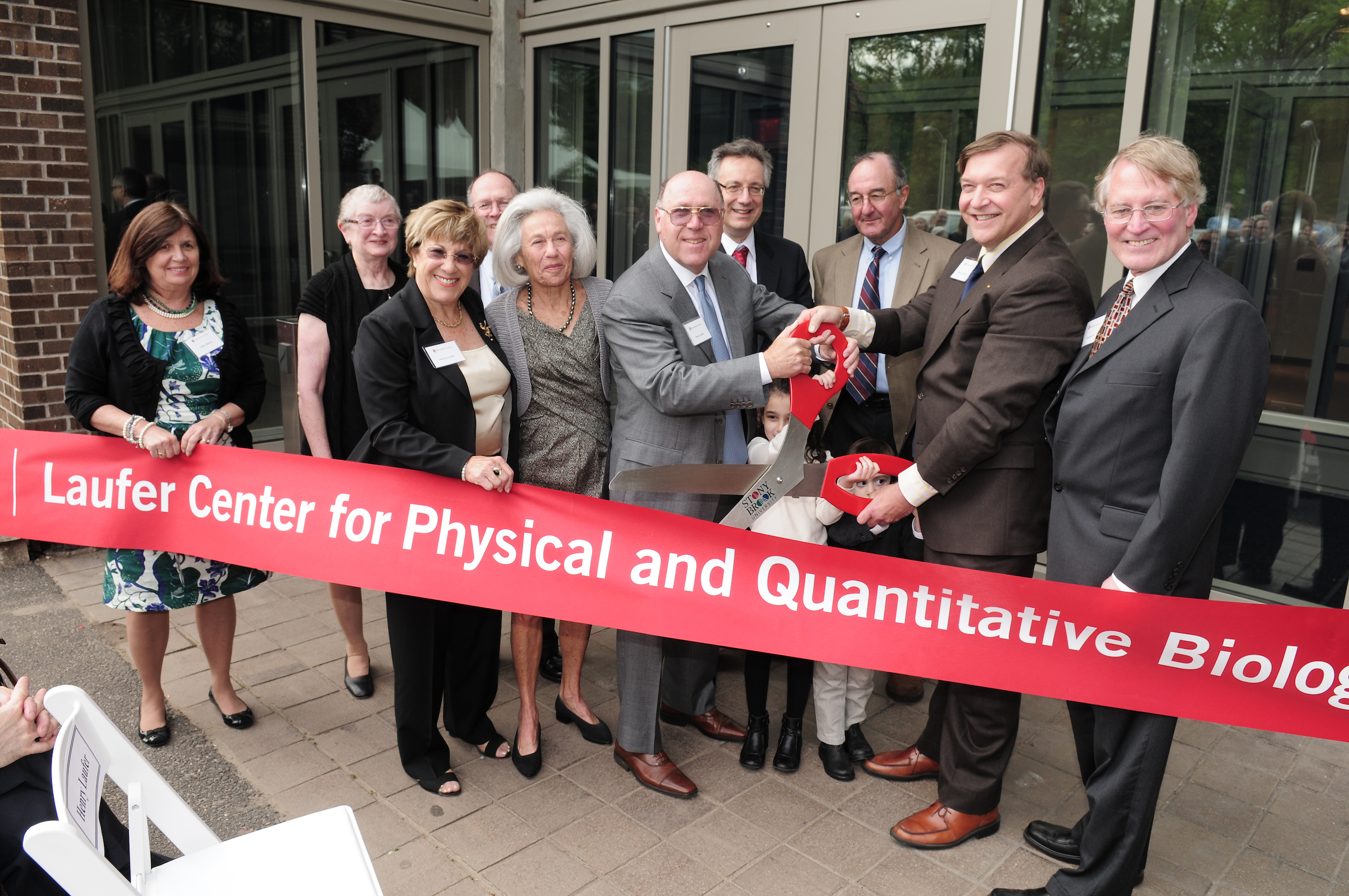 Laufer Center Opening