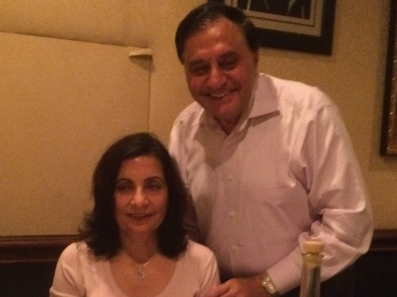 Sudha and Sudesh Mukhi.