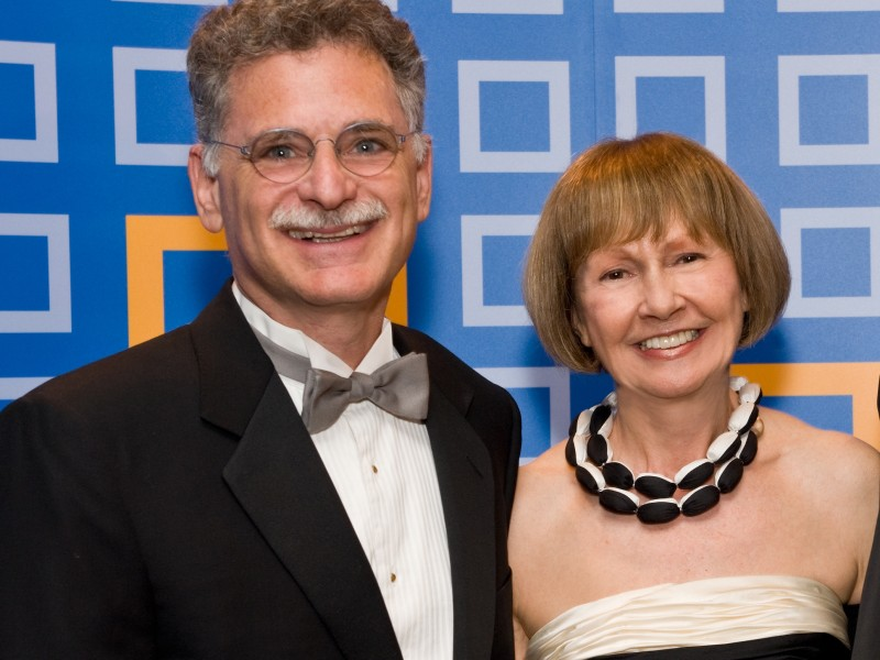 Edward Guiliano '78 and Mireille Guiliano