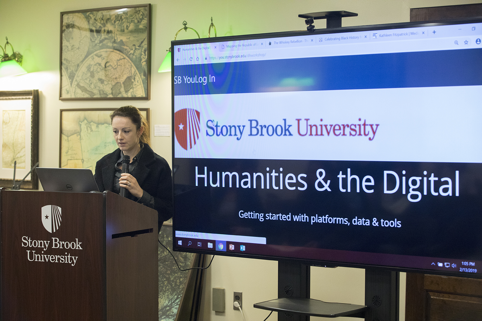 Stony Brook, NY; Stony Brook University; Melville Library: Humanities and the Digital: A Workshop