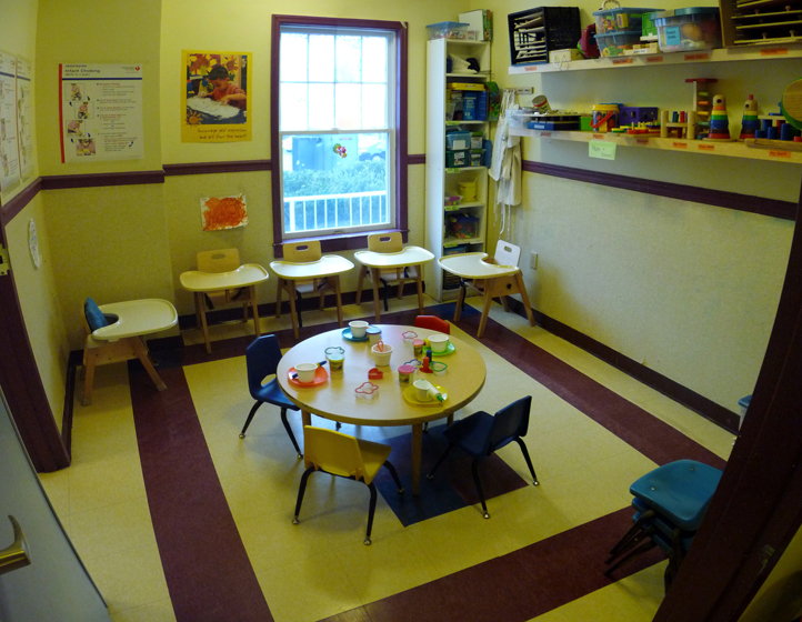 Dining Art Area Stony Brook Child Care Services