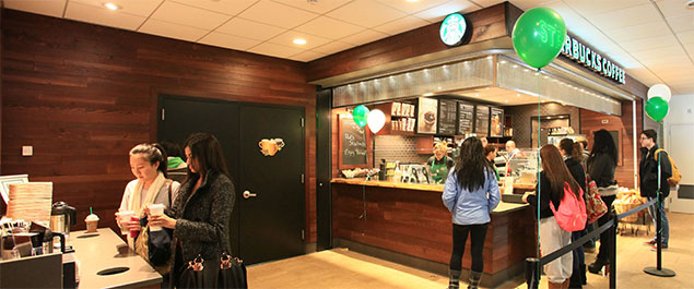 Starbucks Opening at Roth