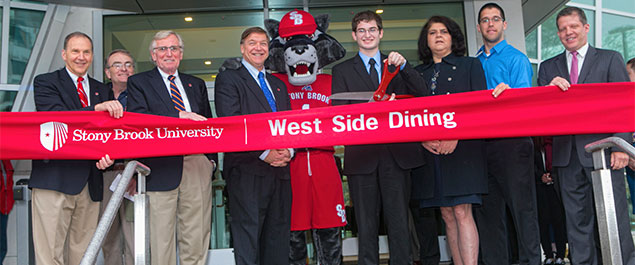 West Side Dining Ribbon Cutting Ceremony