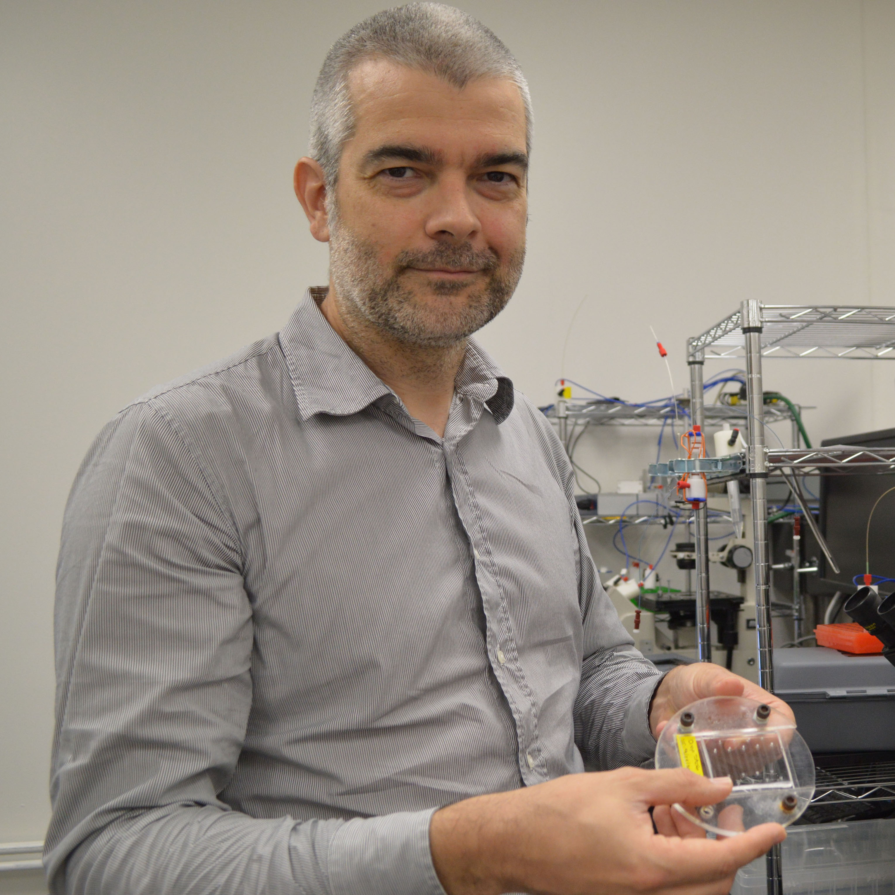 Eric Brouzes: Receives NSF Support to Advance Microfluidic Technologies