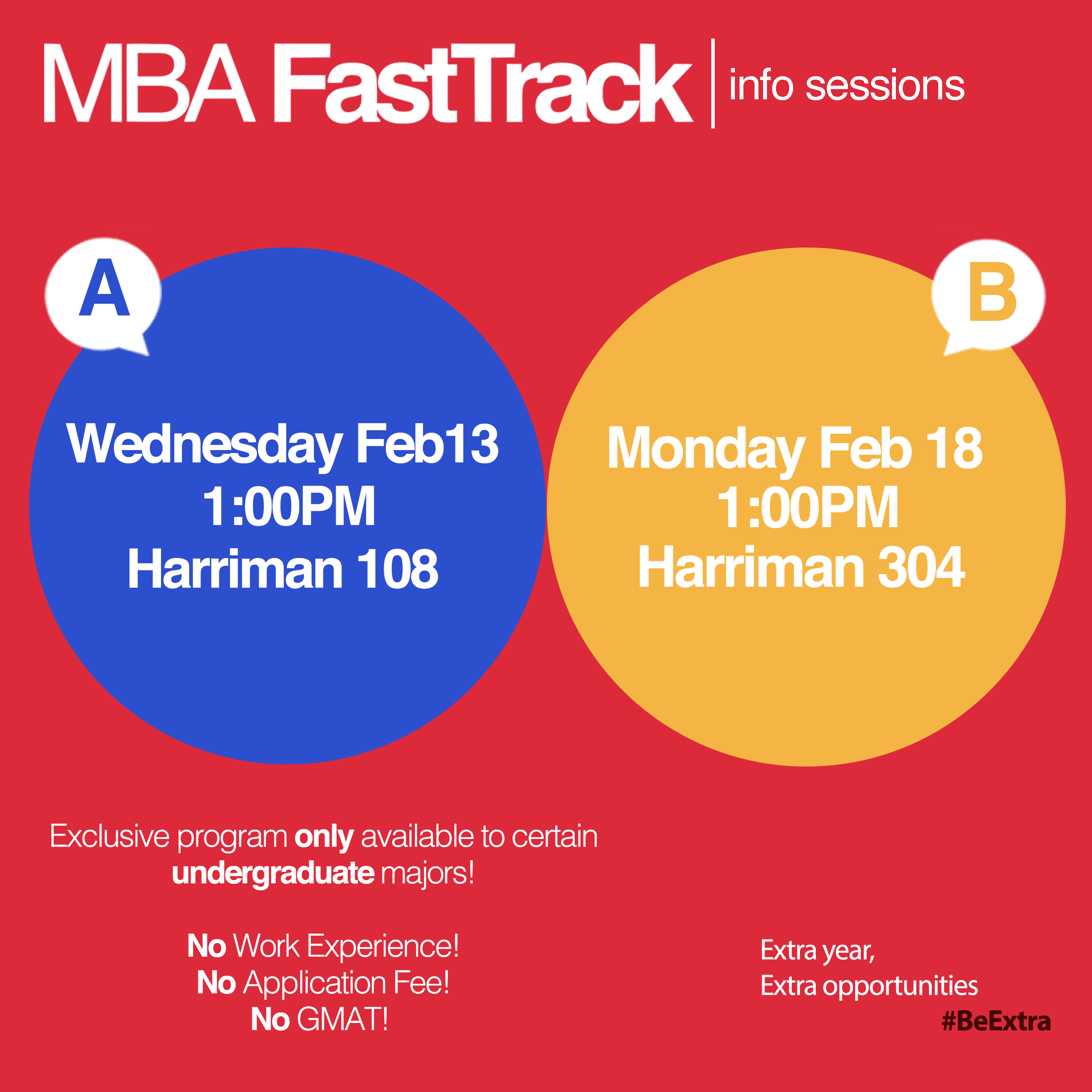 mba fast track