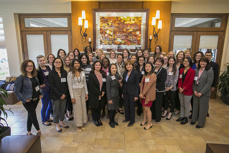Women in STEM Leadership Program May 2018 participants