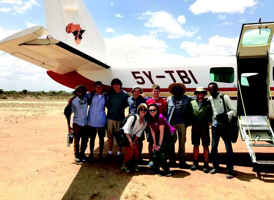 GLOBAL ENGINEERING FIELD SCHOOL IN KENYA