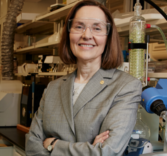 Distinguished Professor in the Department of Materials Science and Chemical Engineering and world renowned energy storage researcher, Esther Takeuchi