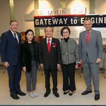 """Dr. Myung Oh Gateway to Engineering"" Fosters Student Collaboration"