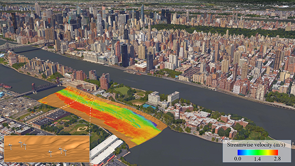 East River Roosevelt Island Tidal Energy project