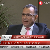 Healthy China, Healthy World: Dean Sotiropoulos interviewed at Cheeloo Conference