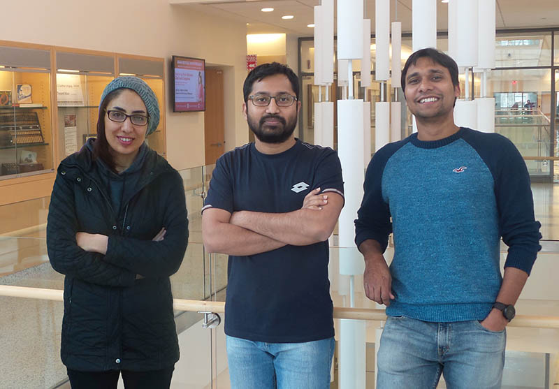 Three Computer Science Students Receive Catacosinos Fellowships