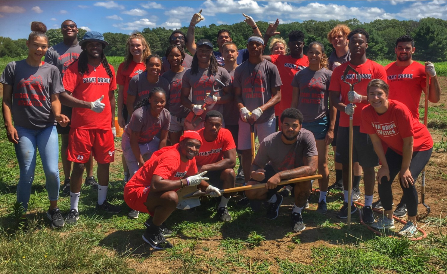 Incoming Student Athletes Volunteer