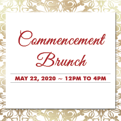 Commencement Brunch presale tickets now available!