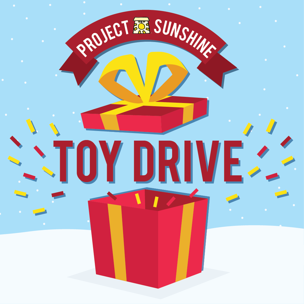 Project Sunshine Toy Drive | December 3 - 14
