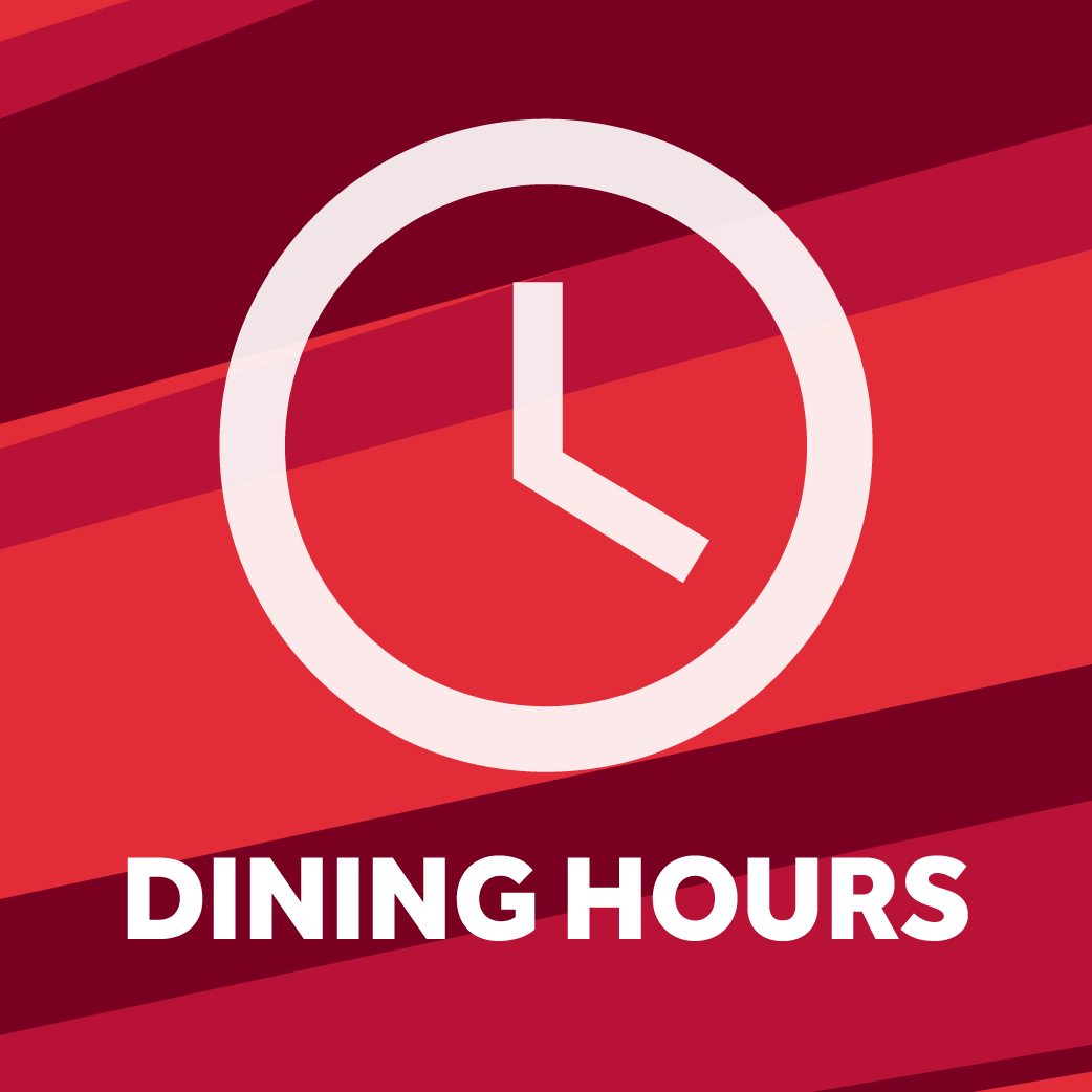 View the latest campus dining hours