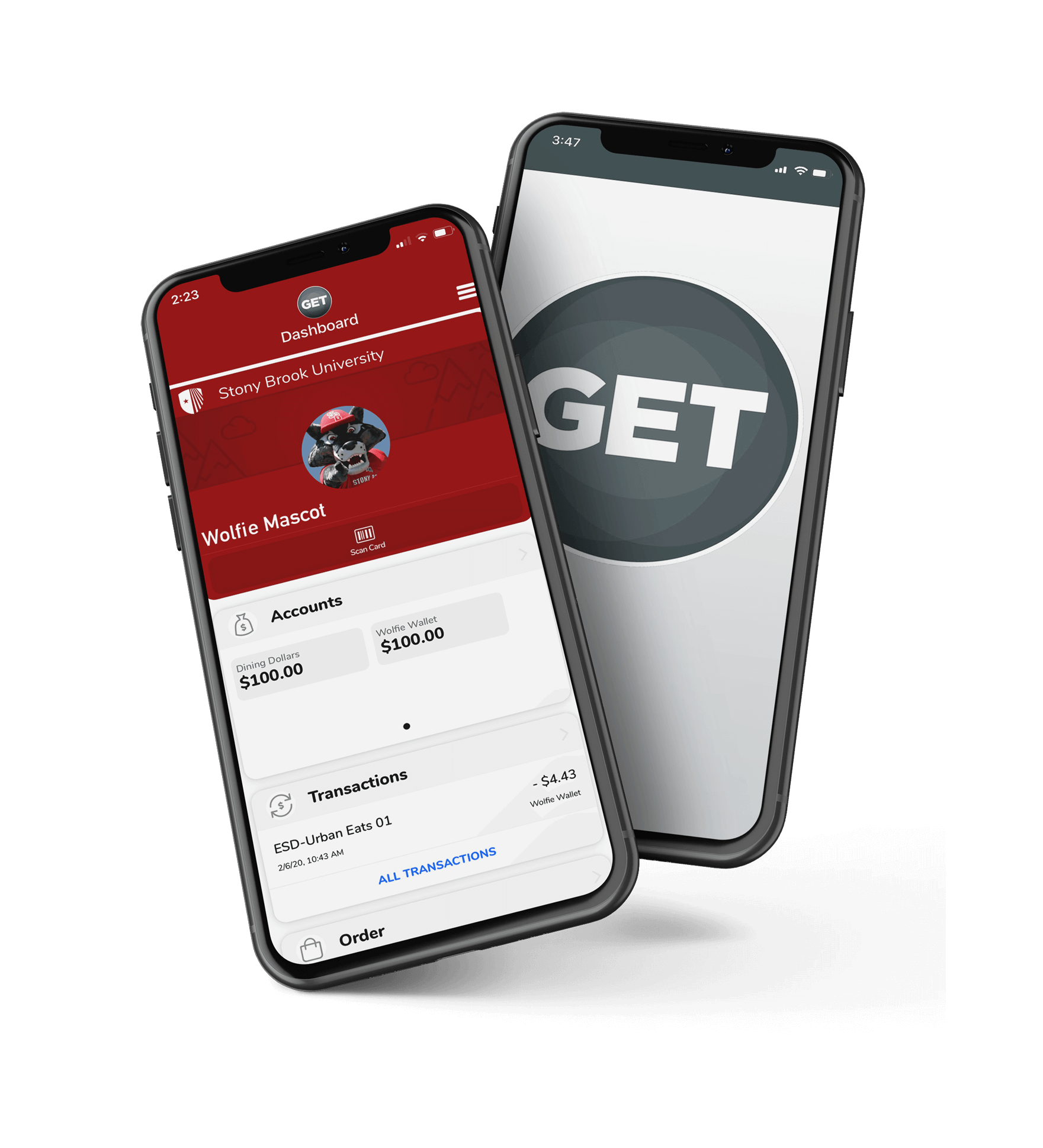 Contactless Payment with the GET mobile app