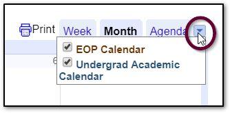 Sbu Academic Calendar.Semester Calendar Eop Aim
