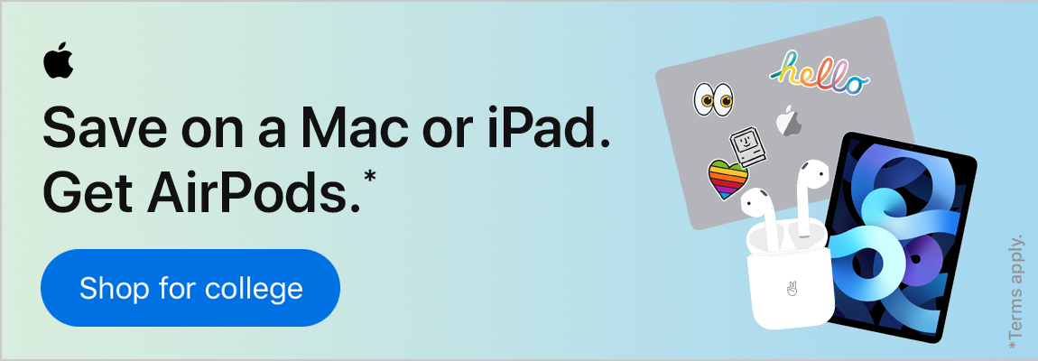 Apple education discounts