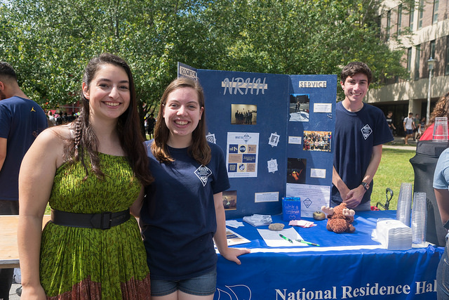 National Residence Hall Honorary (NRHH)FSA collaborated with the National Residence Hall Honorary (NRHH) to host a Lemonade Stand at the Student Involvement Fair on September 5, 2018.