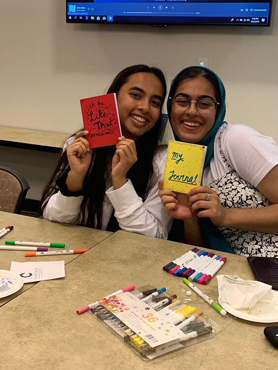Bullet Journaling Event for Roth RAsI would like to thank you and FSA for providing the donuts and coffee for mine and RA Robin's event. The event went well, we had over 45 people attend. Here are some pictures from the event. Best, Salwa
