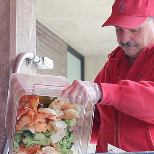 Composting at Roth Food Court, An interview with Anthony Gentile from FSA, Campus Operations.