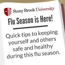 Flu Season is Here! Quick tips to keeping yourself and others safe and healthy during this flu season.