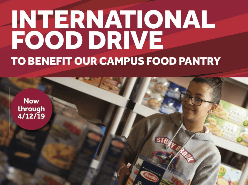 Support the International Food Pantry at Stony Brook