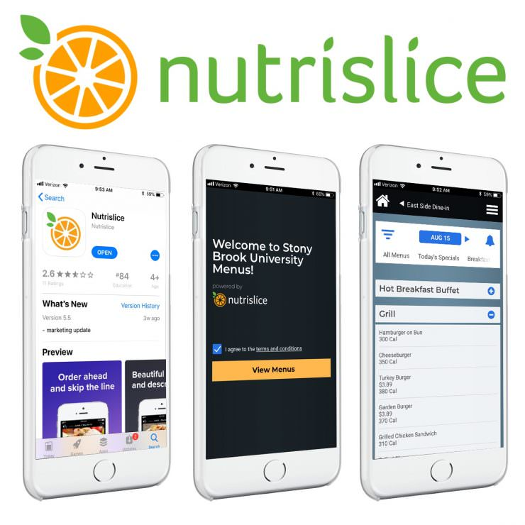 Find Your Favorite Foods Faster with the New Nutrislice App