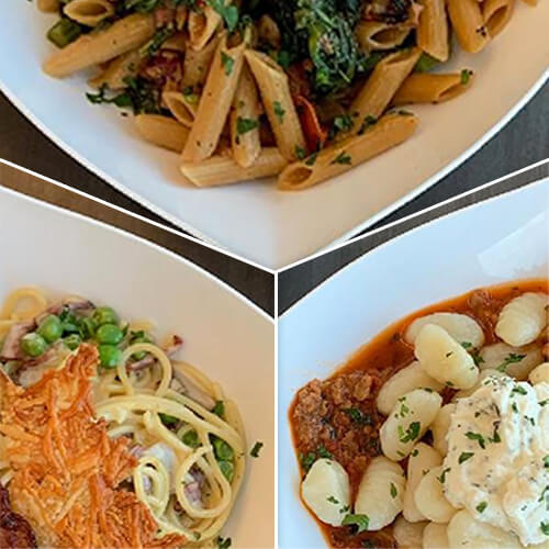 Amazing Pasta Dishes, Chef's Kevin and Rob featured on FoodManagement.com