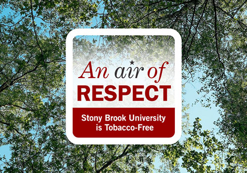 Stony Brook University is Tobacco-Free