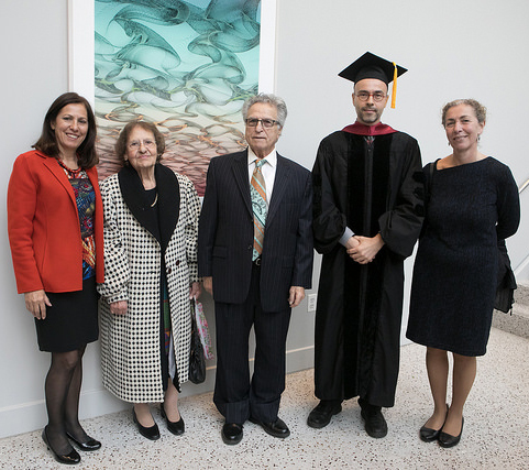 Tsantes family, Prof. Panou with AFGLCNY