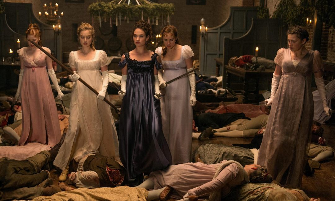 Pride & Prejudice & Zombies movie still