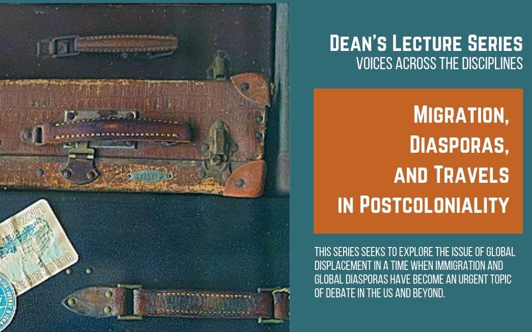 Dean's Lecture Series Fall 2019 banner
