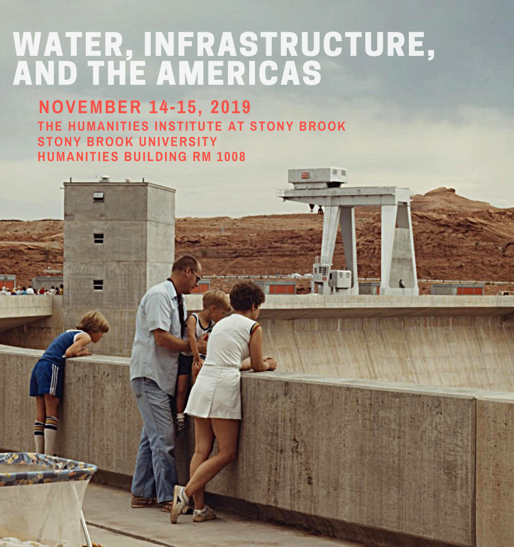 Water, Infrastructure, and the Americas Fall 2019 banner