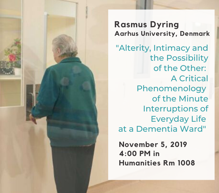 Rasmus Dyring Lecture banner