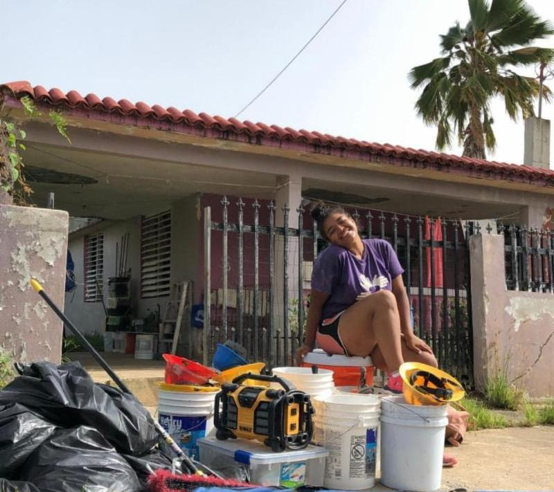 Yamela Cando study abroad in Puerto Rico