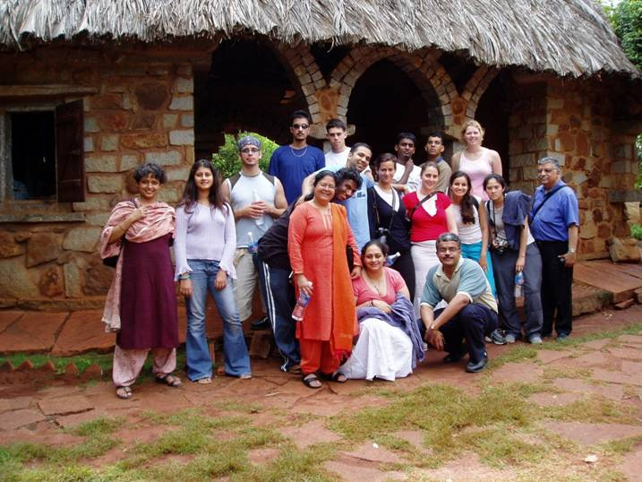 Study Abroad India Village Picture