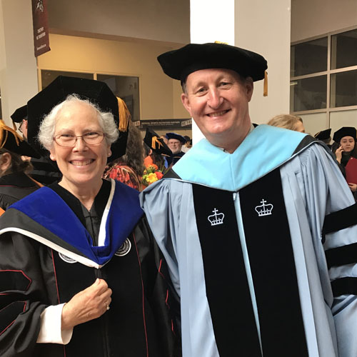 Linda Padwa, Associate Director of Science Education, received her Ph.D. in Science Education on Thursday, May 18.