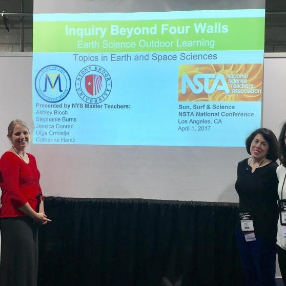 Five Long Island Master Teachers present at the NSTA Conference in April '17