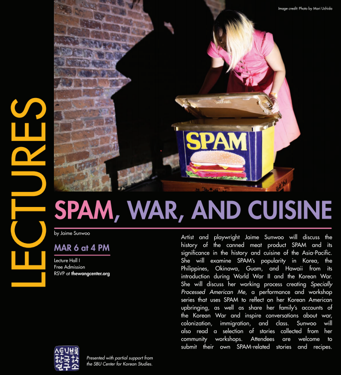 Spam War and Cuisine